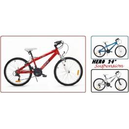 """Dětské jízdní kolo Harry Hero 24 - 24"""" dětské jízdní kolo"""